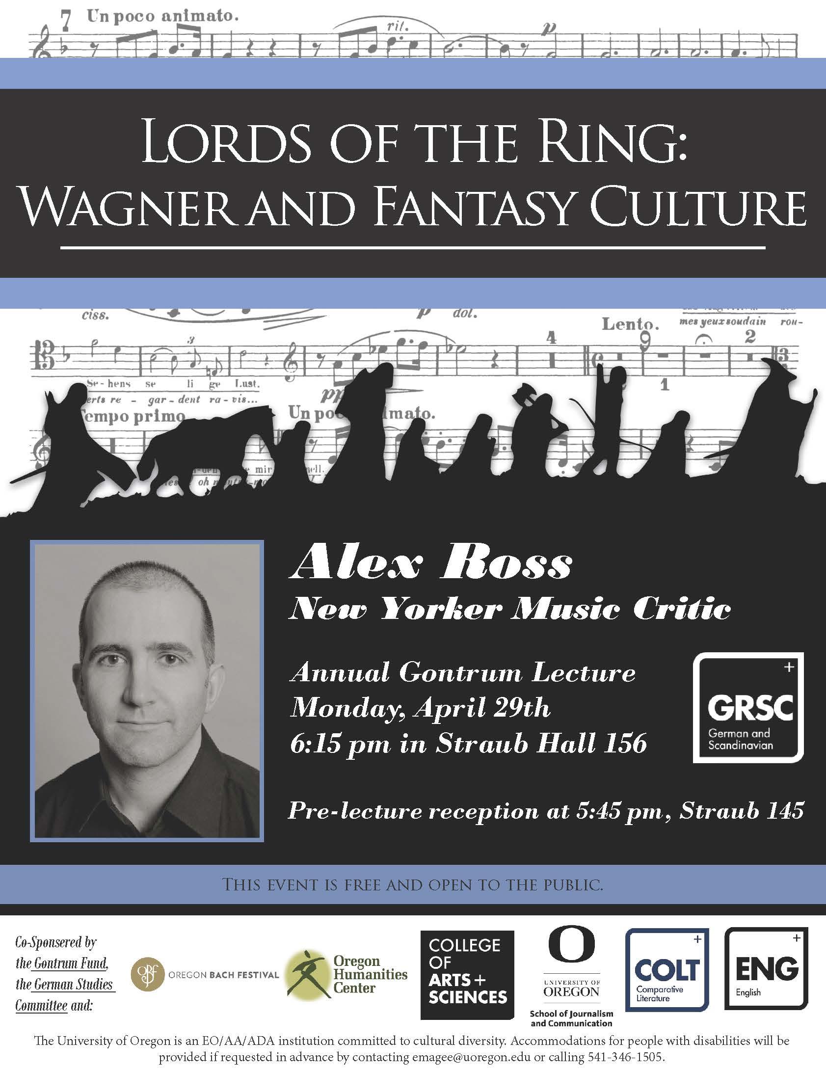 Alex Ross Talk