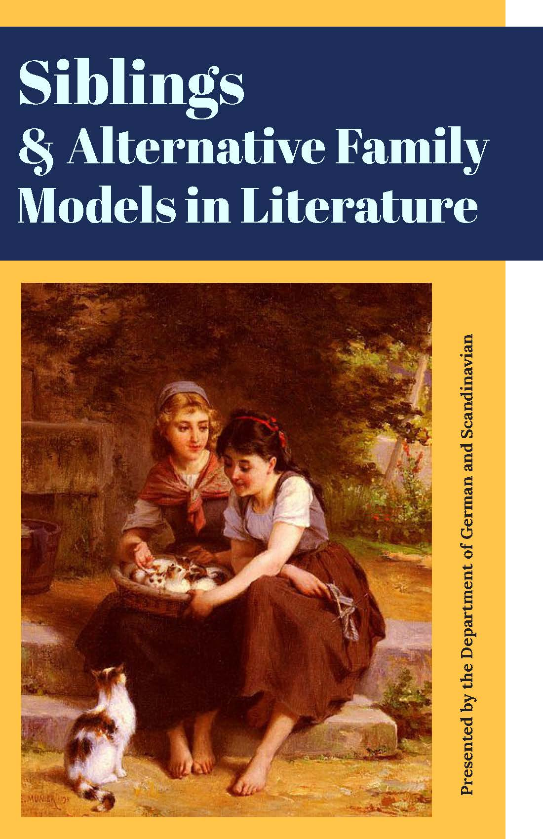 Annual Conference: Siblings and Alternative Family Models in Literature