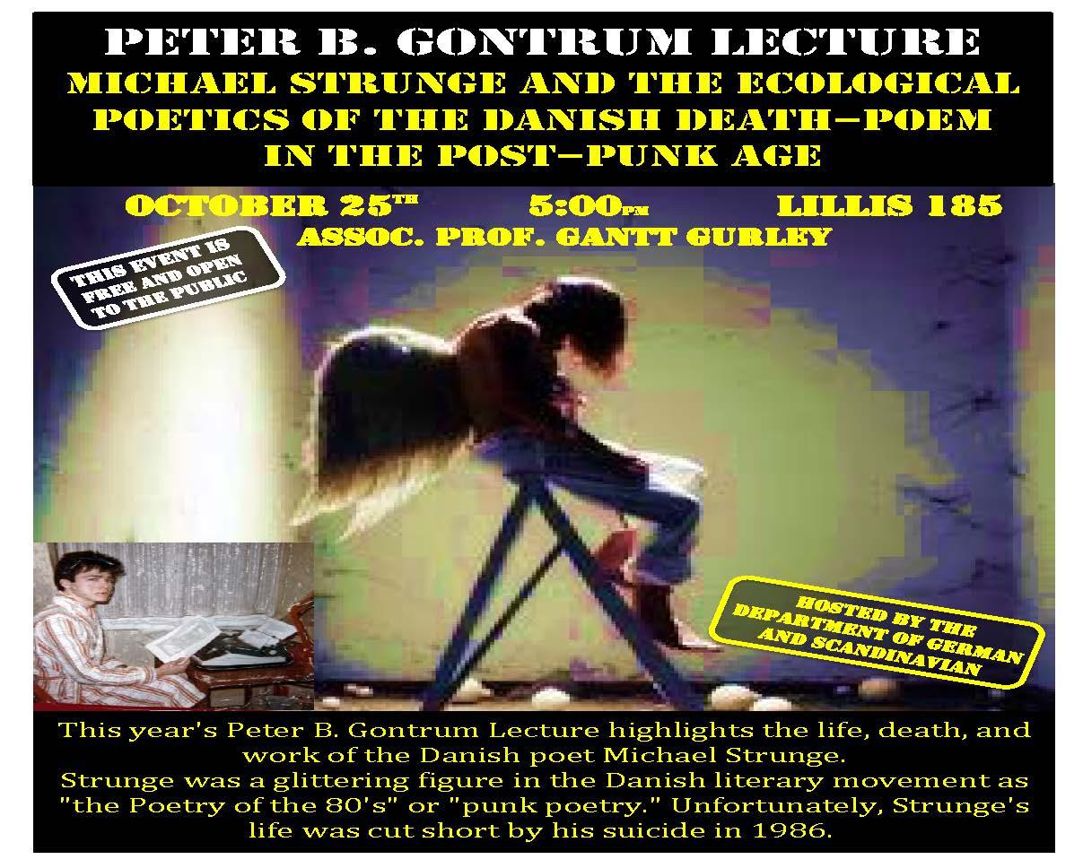 Gontrum Lecture 2017
