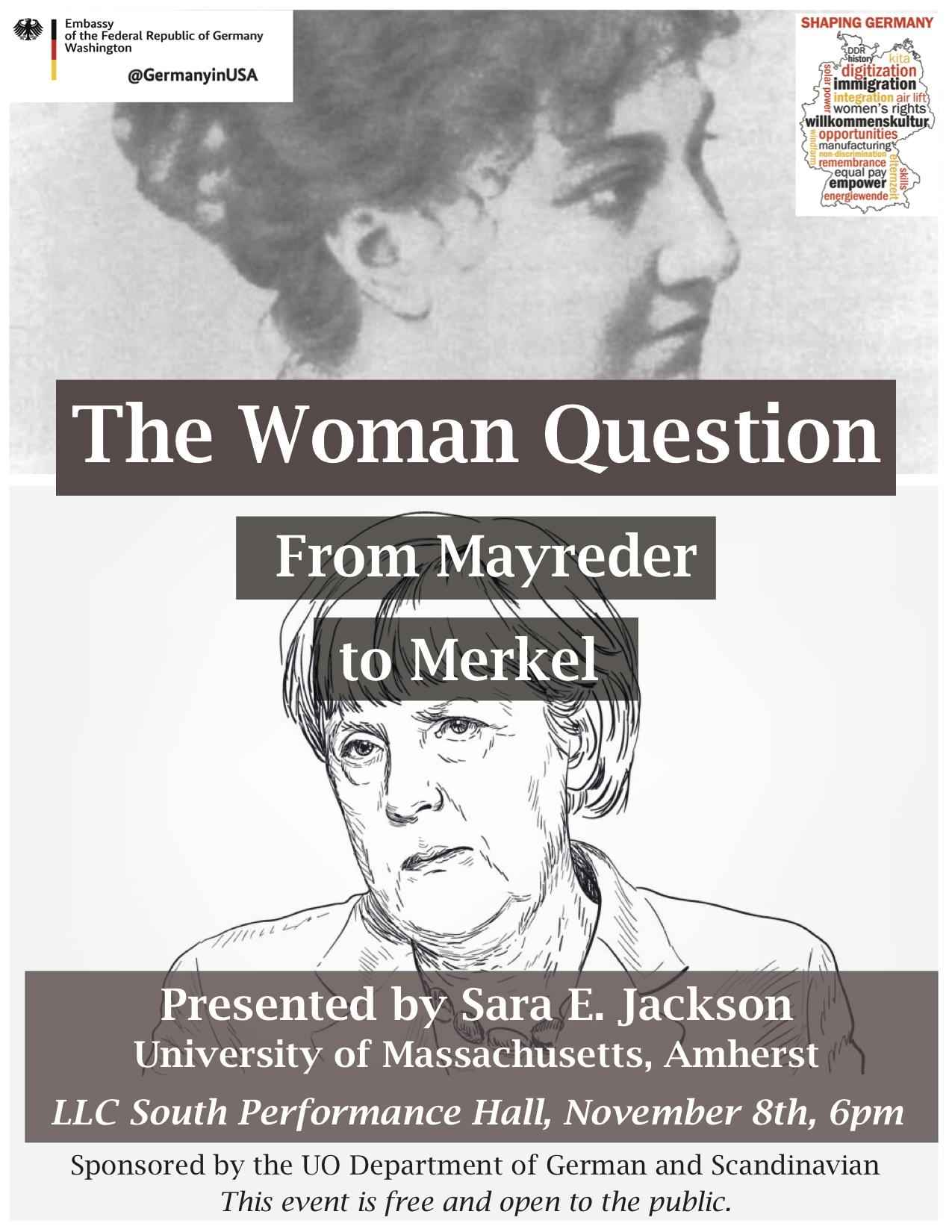 Sara E Jackson the Woman Question