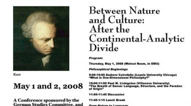 Between Nature and Culture: After the Continental-Analytic Divide  Conference 2008