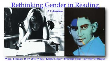 Rethinking Gender in Reading Conference 2016