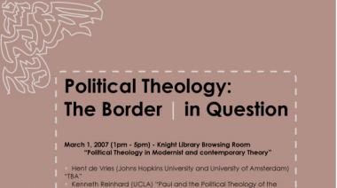 Political Theology: The Border   in Question Conference