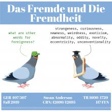 GER 407/507 Seminar: Das Fremde und Die Fremdheit