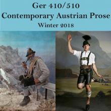 GER 410/510: Contemporary Austrian Prose W18 2